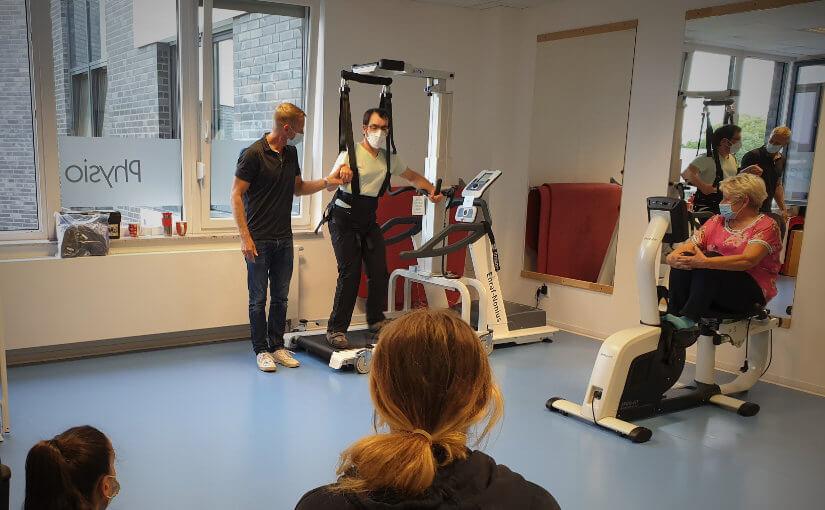 Weiterbildung in gerätegestützte Rehabilitationstechnologie ist uns wichtig auch in Zeiten von Corona